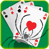 Spider Solitaire Free Game Fun icon