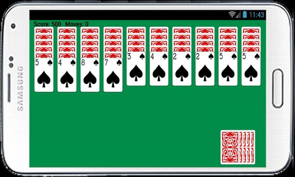 Spider Solitaire Free Game Fun poster
