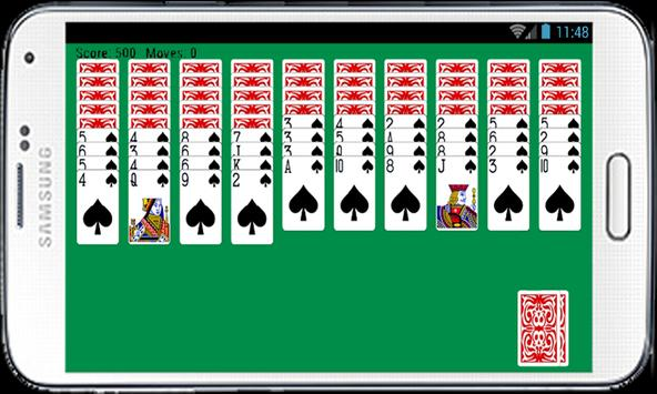 Spider Solitaire Free Game Fun apk screenshot