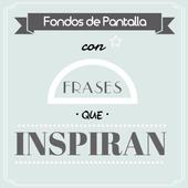 Frases que inspiran - Fondos de Pantalla icon