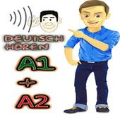 Deutsch hören A1 +A2 icon