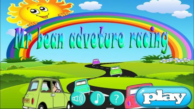 mister bin Adventure Car racing poster