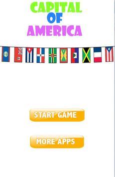 America Capital Quiz poster