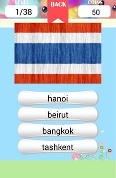 Asia Capitals Quiz poster