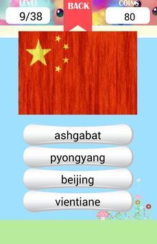 Asia Capitals Quiz apk screenshot