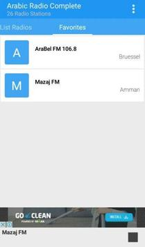 Arabic Radio Complete apk screenshot