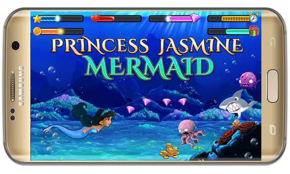 arabian Princess mermaid jasmine at sea game screenshot 9