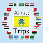 Arabic Countries Trips icon