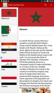 Arabic Countries Trips apk screenshot
