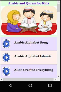 Arabic and Quran for Kids poster