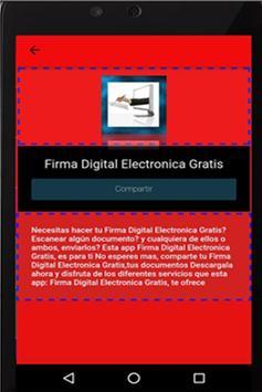 Firma Digital Electronica XP apk screenshot