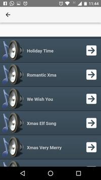 Christmas ringtones screenshot 2