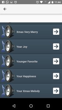 Christmas ringtones apk screenshot