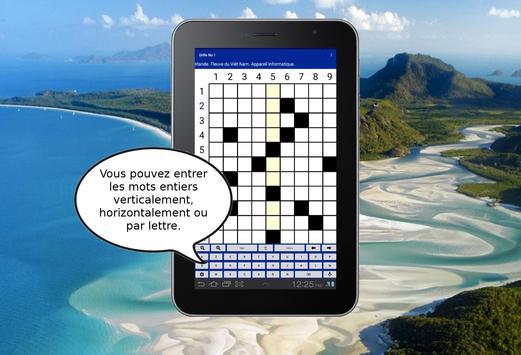Mots Croisés Gratuits 2 - Jeu de lettres. screenshot 6