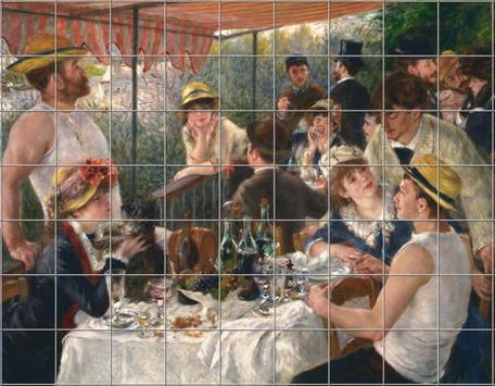 Painting puzzles - Paintings of Famous Painters screenshot 3