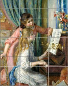 Painting puzzles - Paintings of Famous Painters poster