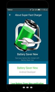 Battery saver new poster