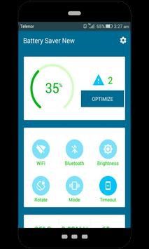 Battery saver new apk screenshot