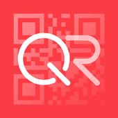 "Lector de QR Code® oficial""Q"". icono"