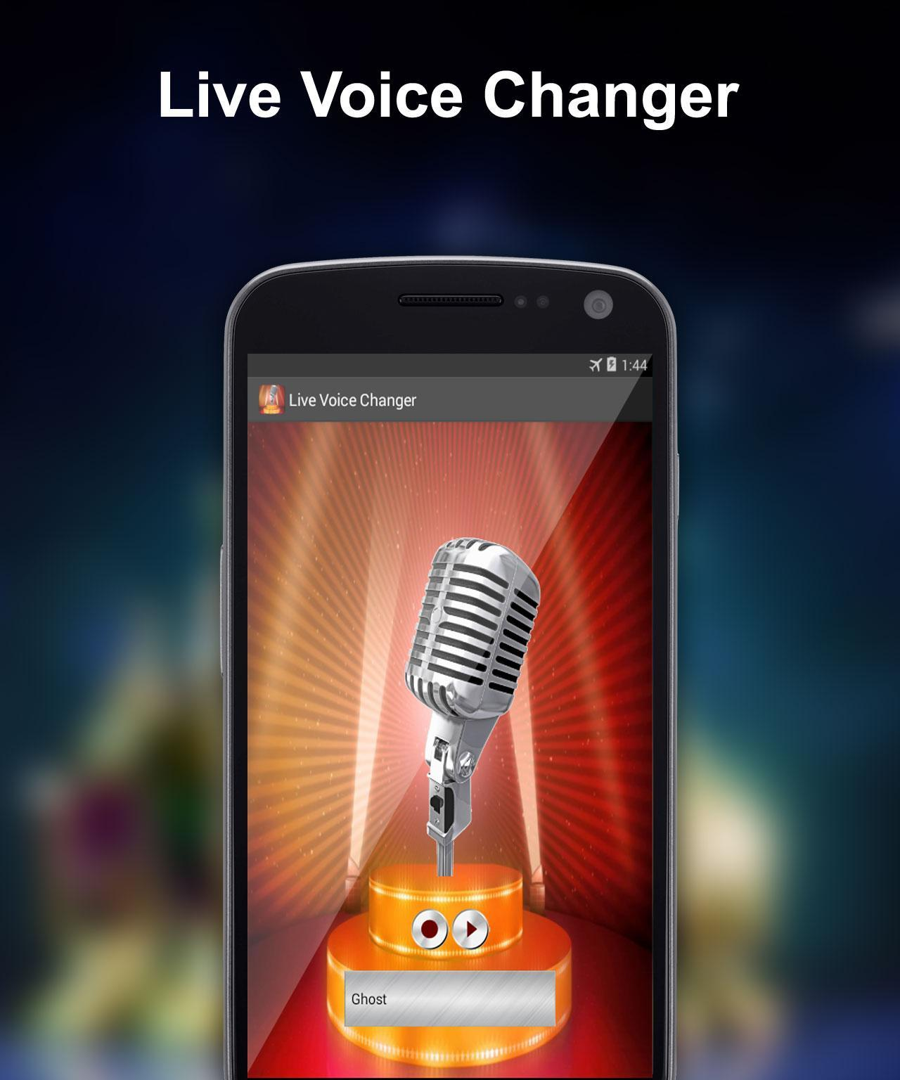 Live Voice Changer for Android - APK Download