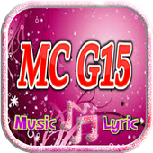 MC G15 music lyric icon