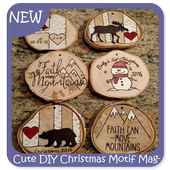 Cute DIY Christmas Motif Magnets icon