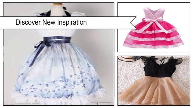 Cute DIY Dress Sewing Pattern poster