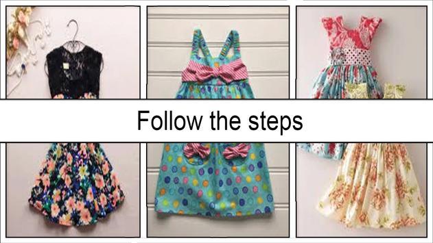 Cute DIY Dress Sewing Pattern screenshot 3