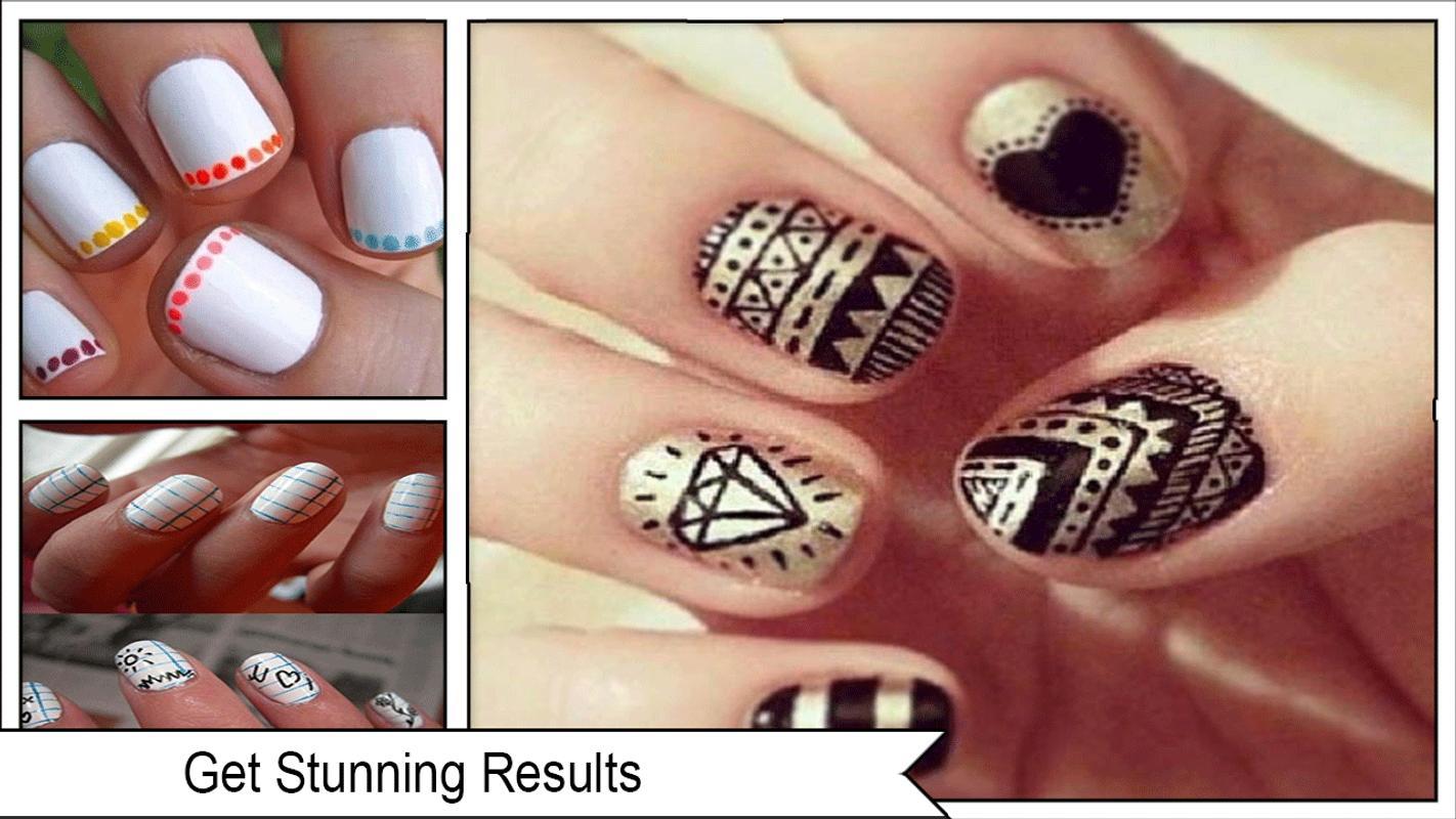 Top 100+ Sharpie Nail Art Designs - best nail art