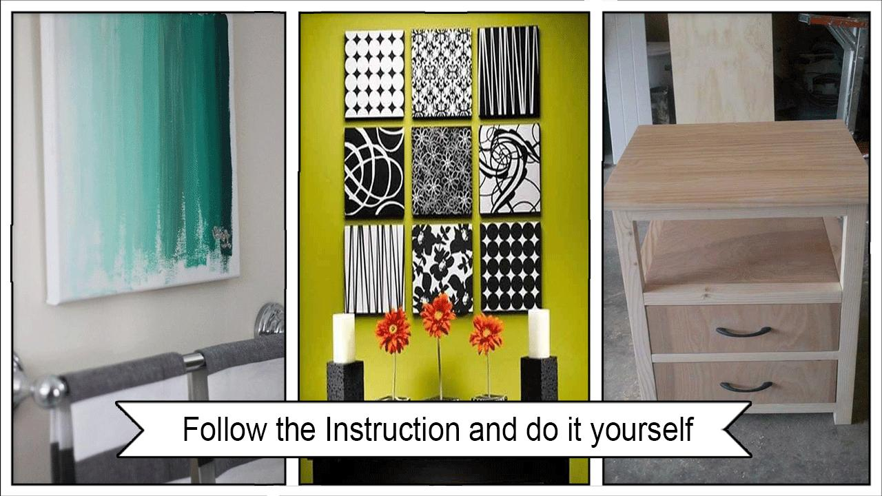 Creative Contemporary DIY Projects poster