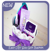 Easy DIY Spa Gift Basket icon