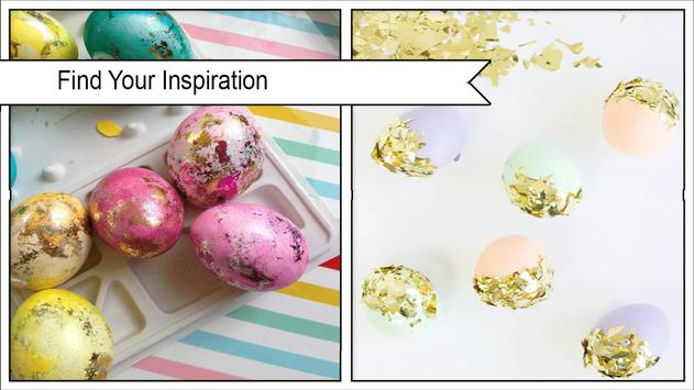 Spring DIY Dipped Easter Eggs poster