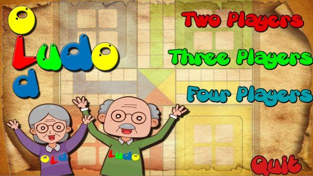 Old Ludo - My Grandfather game poster
