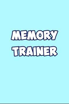 Memory Trainer apk screenshot