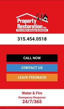 Property Restoration poster