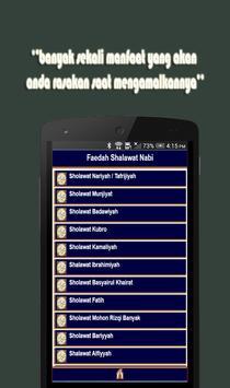Faedah Sholawat Nabi apk screenshot