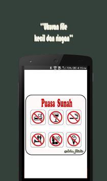 Puasa Sunah poster