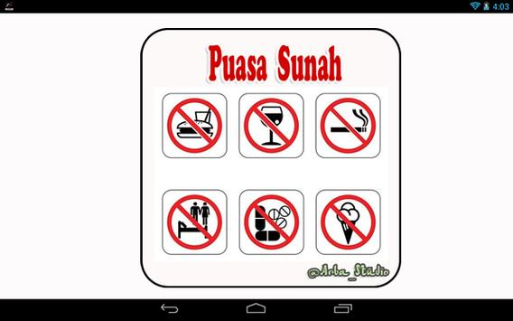 Puasa Sunah apk screenshot