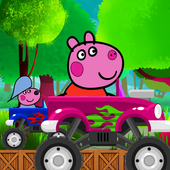 Peppie Driver Pig icon