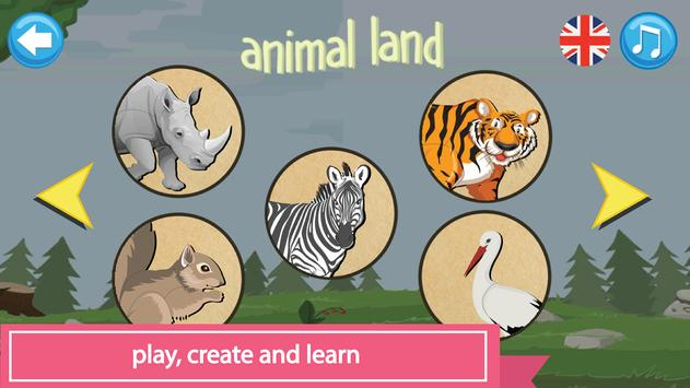 Pazel: Animals Puzzle for Kids screenshot 1