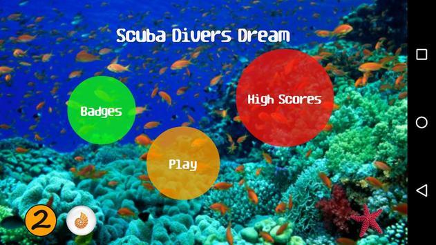 Scuba Divers Dream poster