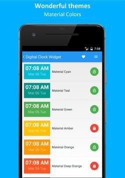 Digital Clock (Widget) screenshot 1