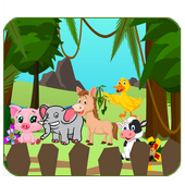 Song Animal Kids Video icon