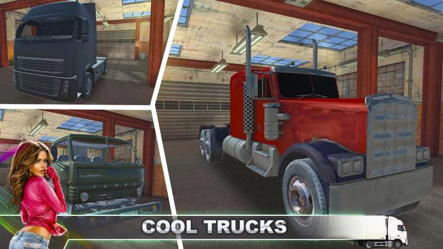 Hard Truck Driver Simulator 3D poster