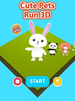 Cute Pets Run 3D screenshot 7