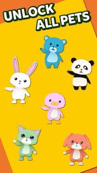 Cute Pets Run 3D screenshot 1
