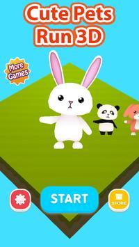 Cute Pets Run 3D screenshot 2