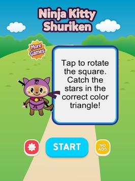 Ninja Kitty Shuriken screenshot 3