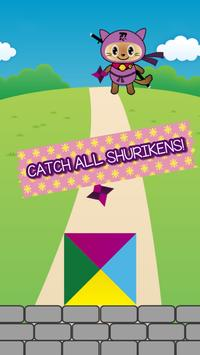Ninja Kitty Shuriken screenshot 1