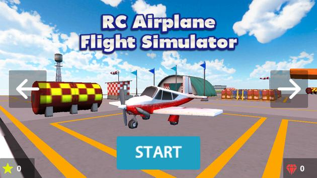 RC Airplane Flight Simulator poster